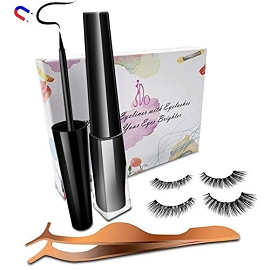 Magnetic Eyeliner with Magnetic Eyelashes Kit