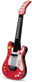 Kids Electric Guitar Toy - Retail Box Packaging **Upcoming Product** - Red & Pink