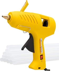 Hot Glue Gun with LED Light & 15 Glue Sticks