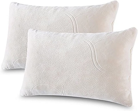 2-Pack Shredded Memory Foam Pillow, Queen