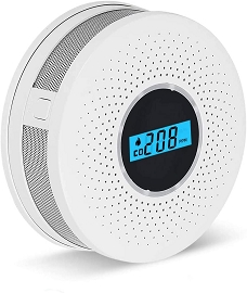 Carbon Monoxide and Smoke Combo Detector with LCD Display - Upcoming