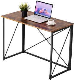 Folding Table Computer Desk, 39.4