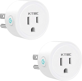 Smart Plug (2 Pack) WiFi Smart Socket Works with Amazon Alexa and Google Assistant