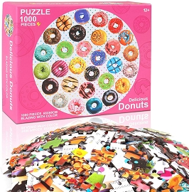 1000 pc Donuts Large Puzzle