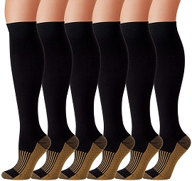 Compression Socks (6-pack)