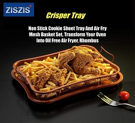 Non-stick Copper Crisper Tray - Rectangular