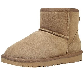 Women's Classic Suede Cowhide Wool Outdoor Boots - Upcoming