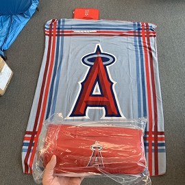 Angels Baseball Team Blankets
