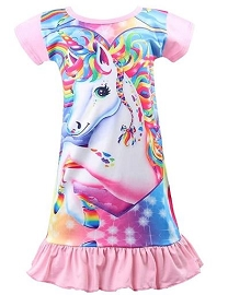 Unicorn Pajama Nightie