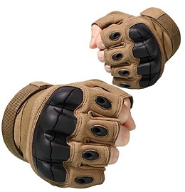 Tactical Fingerless Gloves - 3 Colors **Upcoming Product**