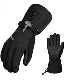 Cold Weather Warm Ski Gloves (BLACK)