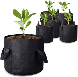 2-Pack 15 Gallon Grow Bags with Handles