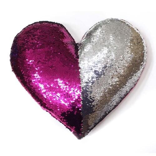 Sequence Heart Pillows - Assorted Colors