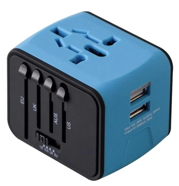 Travel Adapter - Assorted Colors